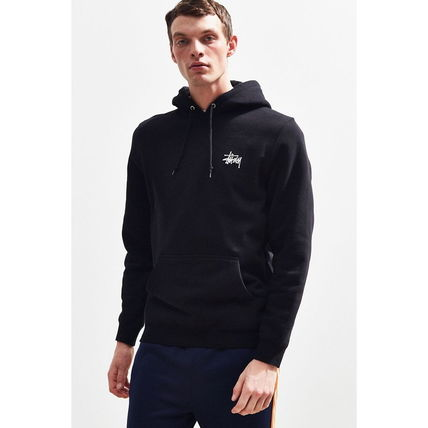 STUSSY Hoodies Pullovers Sweat Street Style Long Sleeves Hoodies 16
