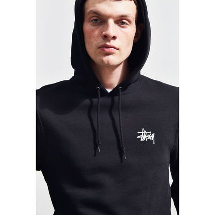 STUSSY Hoodies Pullovers Sweat Street Style Long Sleeves Hoodies 19