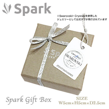 Spark Casual Style Silver Fine