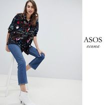ASOS Star Long Sleeves Oversized Shirts & Blouses