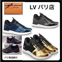 Louis Vuitton ALMA Blended Fabrics Street Style Plain Handmade Sneakers