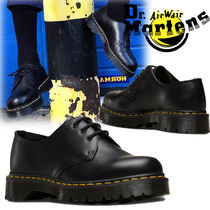 Dr Martens Casual Style Unisex Street Style Leather