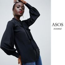 ASOS Casual Style Street Style Long Sleeves Shirts & Blouses