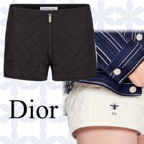 Christian Dior Casual Style Silk Shorts