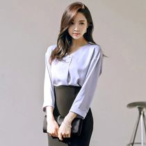 Monogram Street Style Cropped Plain Medium Office Style