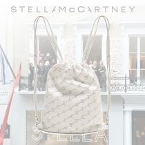 Stella McCartney Casual Style Leather Backpacks
