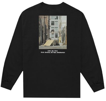 HUF Long Sleeve Street Style Collaboration Long Sleeves Long Sleeve T-Shirts 2