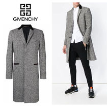 GIVENCHY Wool Chester Coats