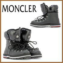 MONCLER Plain Toe Mountain Boots Casual Style Street Style