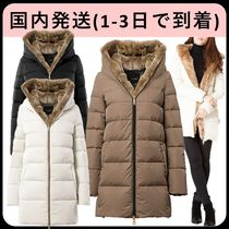 DUVETICA carys Fur Long Down Jackets