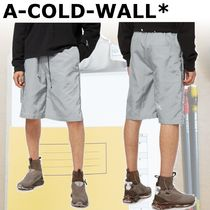 A-COLD-WALL Street Style Joggers Shorts