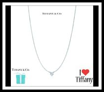 Tiffany & Co BY THE YARD Blended Fabrics Silver Elegant Style Necklaces & Pendants