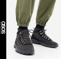 ASOS Mountain Boots Faux Fur Outdoor Boots