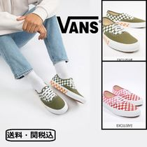 VANS AUTHENTIC Other Check Patterns Sneakers
