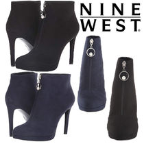 Nine West Plain Pin Heels Elegant Style Ankle & Booties Boots