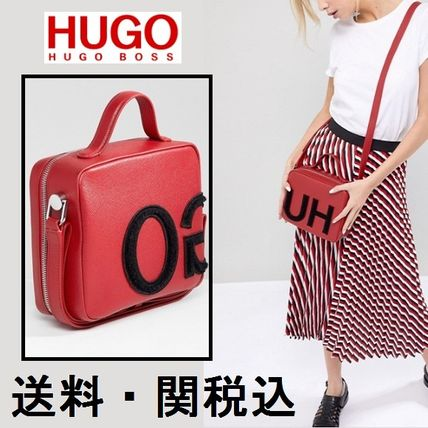 Casual Style 2WAY Leather Handbags