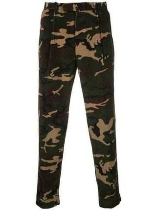 8d13d9c0c MONCLER Camouflage Cotton Pants by NyaNyao - BUYMA