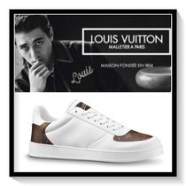Louis Vuitton Monogram Plain Leather Sneakers