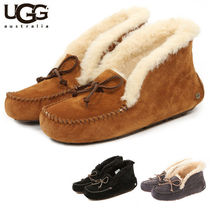 UGG Australia ALENA Plain Slip-On Shoes