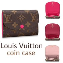 Louis Vuitton MONOGRAM Other Check Patterns Leather Coin Purses