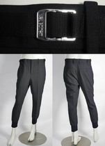 NeIL Barrett Wool Street Style Plain Cropped Pants