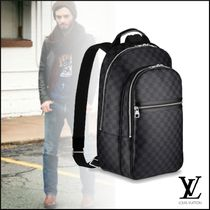 Louis Vuitton Other Check Patterns Canvas A4 2WAY Backpacks