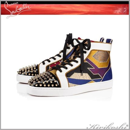 newest ca3f6 3defb Christian Louboutin 2018-19AW Leather Sneakers