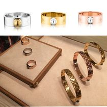 Louis Vuitton Monogram Infini Casual Style Rings