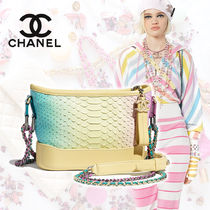 CHANEL Blended Fabrics Street Style 2WAY Chain