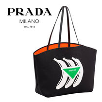 PRADA Casual Style Unisex Cambus Street Style Bag in Bag A4