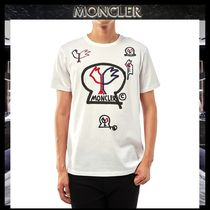 MONCLER MONCLER GENIUS Crew Neck Street Style Cotton Short Sleeves