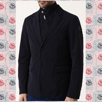 MONCLER Short Plain Blazers Jackets