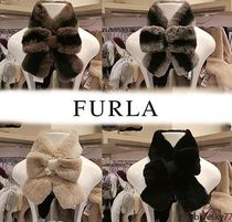 FURLA Plain Heavy Scarves & Shawls