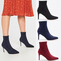 RESERVED Plain Pin Heels Elegant Style Ankle & Booties Boots
