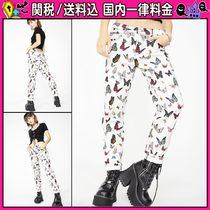 DOLLS KILL Casual Style Other Animal Patterns Long Jeans