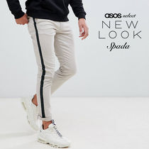 ASOS Street Style Bi-color Cotton Skinny Fit Pants