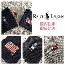 Ralph Lauren Star Wool Scarves