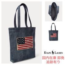 Ralph Lauren Star Casual Style A4 Totes