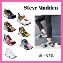 Steve Madden Casual Style Unisex Street Style Low-Top Sneakers