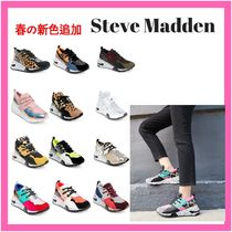 Steve Madden Camouflage Leopard Patterns Casual Style Blended Fabrics