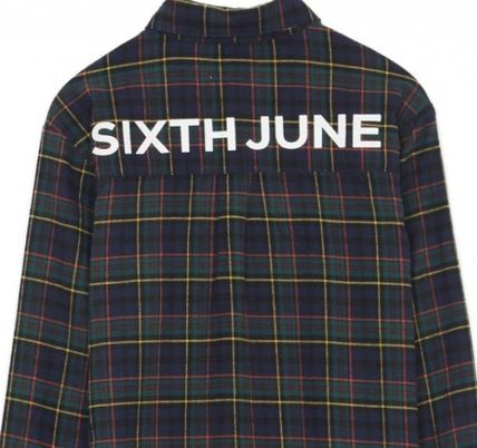 Sixth June Shirts Tartan Street Style Long Sleeves Shirts 3