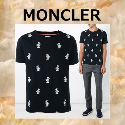 MONCLER More T-Shirts Cotton T-Shirts