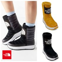 THE NORTH FACE Plain Toe Mountain Boots Casual Style Street Style