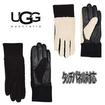 UGG Australia Plain Office Style Smartphone Use Gloves