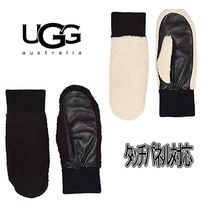 UGG Australia Casual Style Plain Smartphone Use Gloves