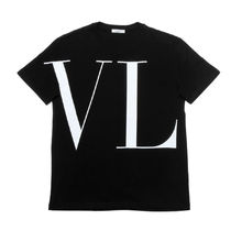 VALENTINO U-Neck Cotton Short Sleeves T-Shirts