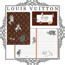 Louis Vuitton MONOGRAM Unisex Collaboration Notebooks