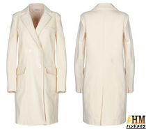 MaxMara Plain Medium Office Style Peacoats
