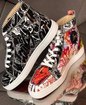Christian Louboutin Leather Sneakers