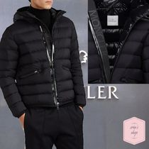 MONCLER ACHARD Short Street Style Plain Down Jackets